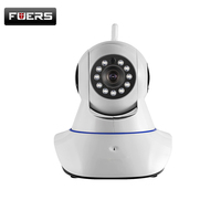 FUERS 720P WiFi Camera Clear And Loud Sound Two Way Audio IP Network Camera Night Vision