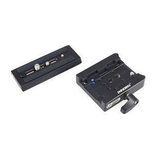 Image 5 - INNOREL P200 Verbeterde Aluminium Legering Quick Release Clamp Kit QR Plaat Adapter Voor Manfrotto 501 500AH 701HDV 503HDV Q5 etc
