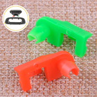 CITALL 88981031 88981030 Left Right Tailgate Handle Rod Clip Red & Green Fit For Chevrolet Silverado GMC Sierra 1500 2500 3500