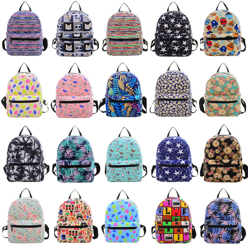 NEW 1-32 Women Backpack School Bag for Teenagers College Waterproof Oxford Travel Bag 15inch Laptop Back packs Bolsas Mochila