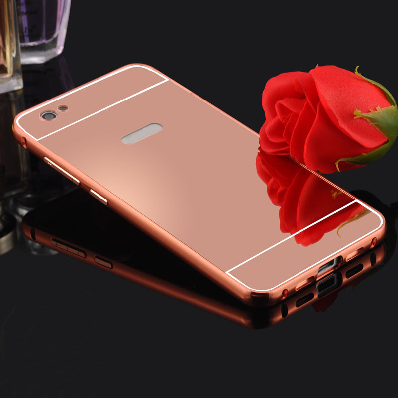 Ultra Light Metal Case with Aluminum Alloy Frame Mirror Backs