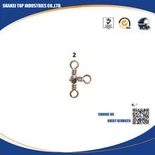1000pcs Durable Barrel crossline swivels