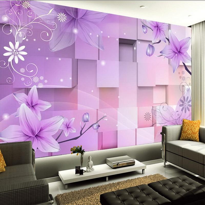 beibehang photo Classic 3d mural wallpaper sofa paste natural ...