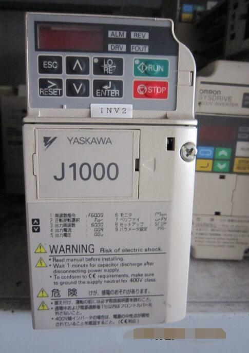 Inverter   CIMR-JA2A0002BAA 0.4KW/0.2KW 220V   , Used  one , 90% appearance new  ,  3 months warranty , fastly shippingInverter   CIMR-JA2A0002BAA 0.4KW/0.2KW 220V   , Used  one , 90% appearance new  ,  3 months warranty , fastly shipping