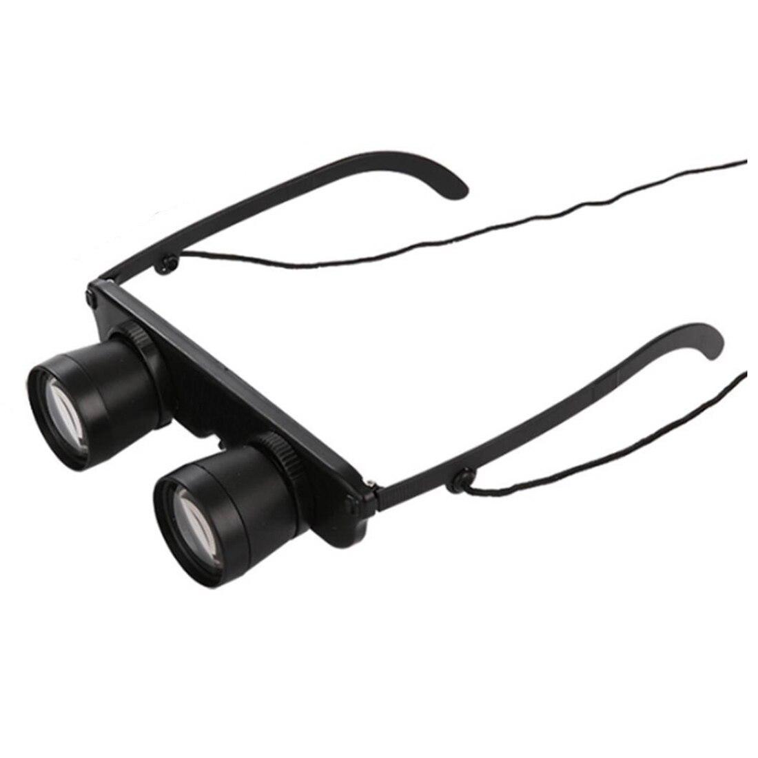 Schwarz 3x28 Brille Vergroesserungsglas Lupenbrille Brillenlupe Glaeser Stil Angel Reise Fernglas Theater Lup Fisch Optics Fer