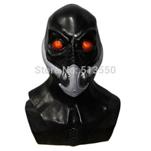 Hot Selling Realistic Halloween Costume Traveler Resurrection mask Full Over Head Latex Alien Mask