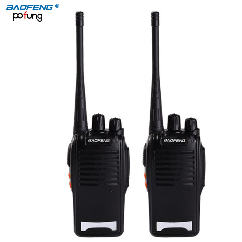 2PCS Original BaoFeng BF 777S long range wireless UHF 400 470MHz power 5W Two way Radio