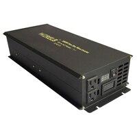 Солнечный инвертор 2000 Вт 12 в 230 В Чистая синусоида Инвертор панели солнечные конвертер 24 В/48 В DC до 110 В/120 В/220 В AC дистанционное управление