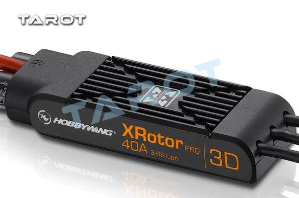 Ormino HOBBYWING XRotor-Pro-40A-3D ESC Multiaxis Brushless controlador de velocidad Quadcopter ESC 40a RC Drone Diy Kit Multicopter ESC
