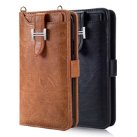 For Samsung Galaxy S9 Plus Wallet Case PU Leather Luxury Slots Holder Carrying Folio Flip Cover