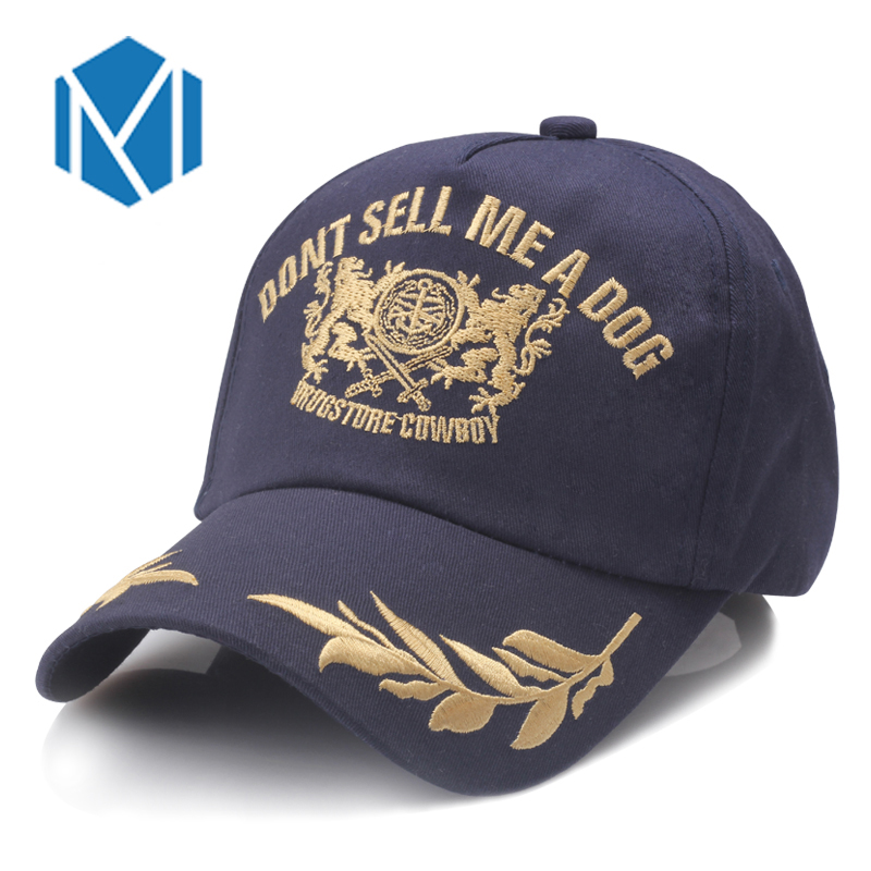 Miya Mona Embroidery Letter Wheat Double Lion Baseball Caps Adjustable Outdoor Sports Casquette Hats 3 Color Fitted Snapback Cap rosicil new letter hats gorros bonnets cocain