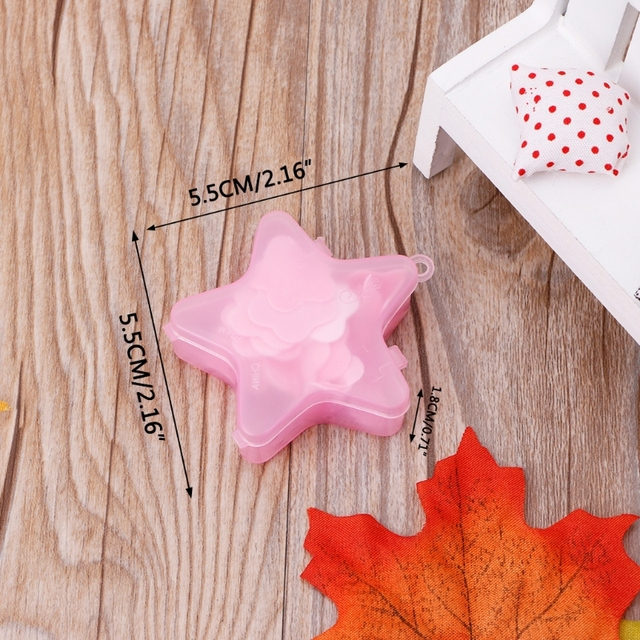 1 Box Stars Shape Convenient Washing Cleaning Hand Paper Soap Anti-Bacterial Portable Gift Random color New 5