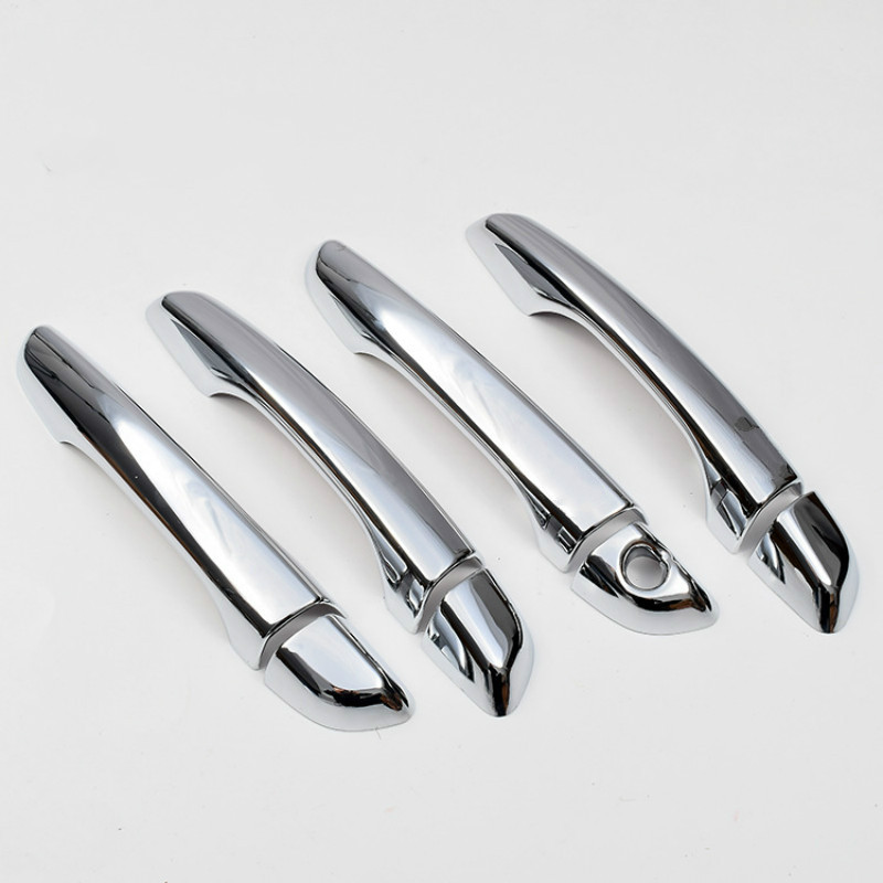 New Chrome Car Door Handle Cover Trim Sticker For Hyundai Elantra 2017 2018 2019 2020 Car Styling Accessories  Car Decal