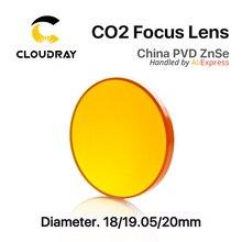 """Китай ZnSe линза диаметром. 18- 20мм FL 50.8 63.5 101.6mm 1.""""-5"""" для CO2 лазерная гравировка Резка машина"""