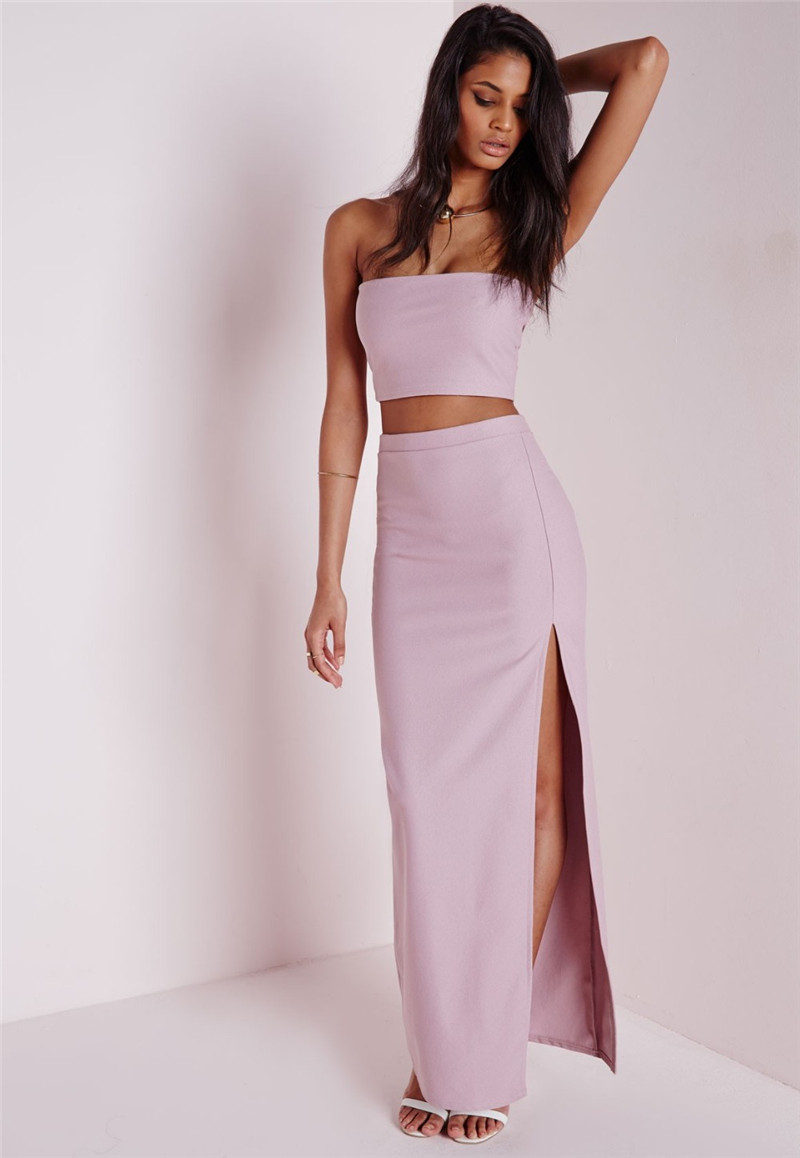 Two Piece Strapless Dresses – Fashion