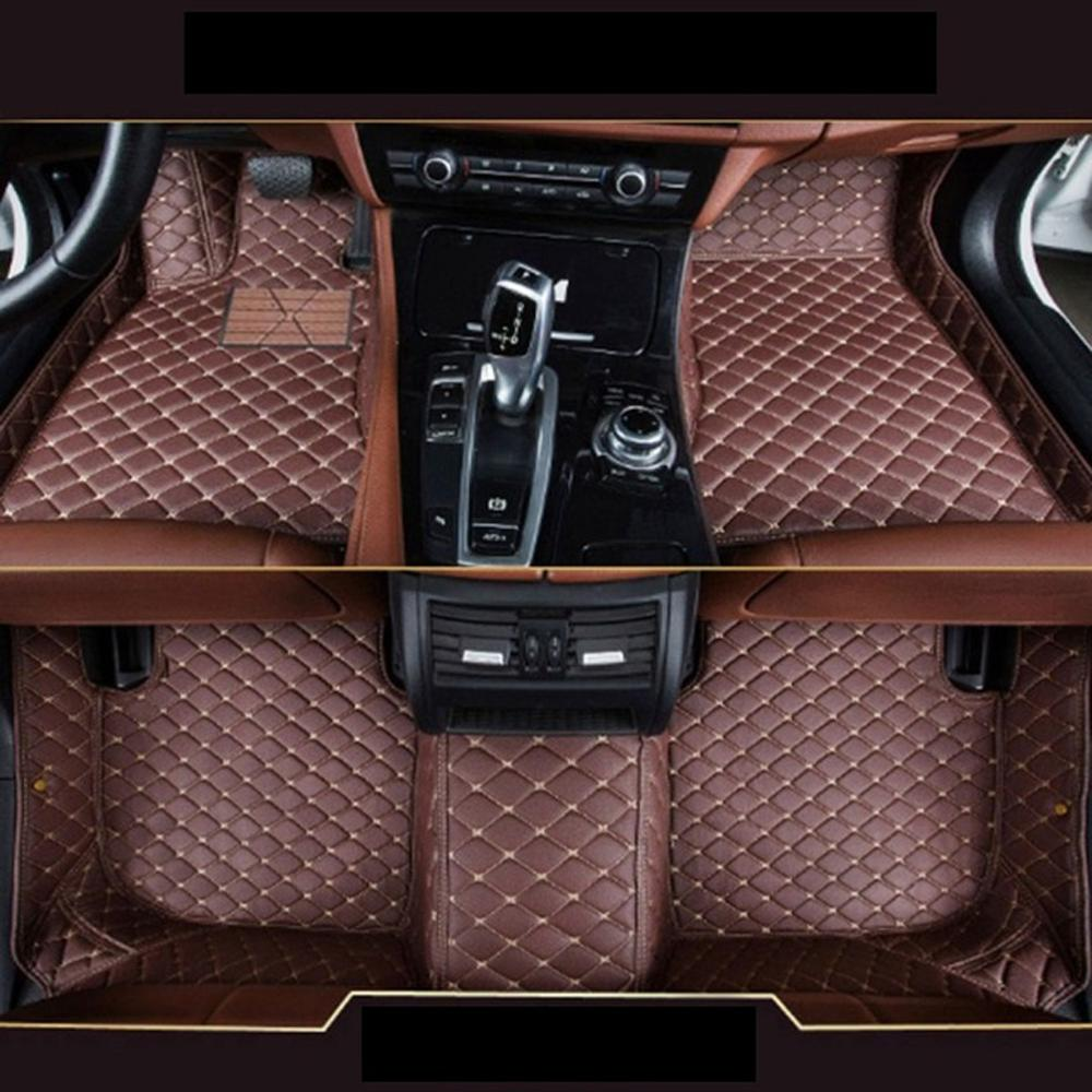 For BMW X4 F26 2011 2012 <font><b>2113</b></font> 2014 2015 2016 2017 Car-Styling Custom Car Floor Mats image