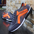 Новые летние туфли воздухопроницаемой сеткой мужской студент спортивного отдыха мужская сверхлегкий мужские сетки обувь плюс размер