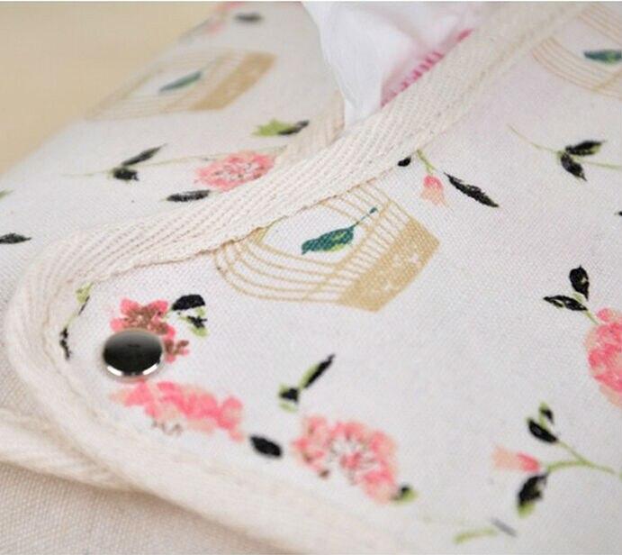 Caja del tejido lindo tela servilleta titular Tipo de asiento hogar ...