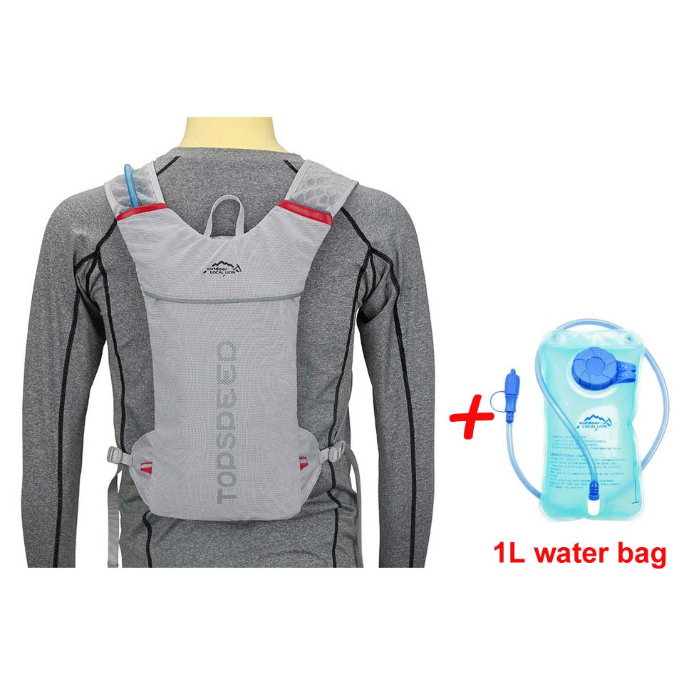 Grey with Water bag