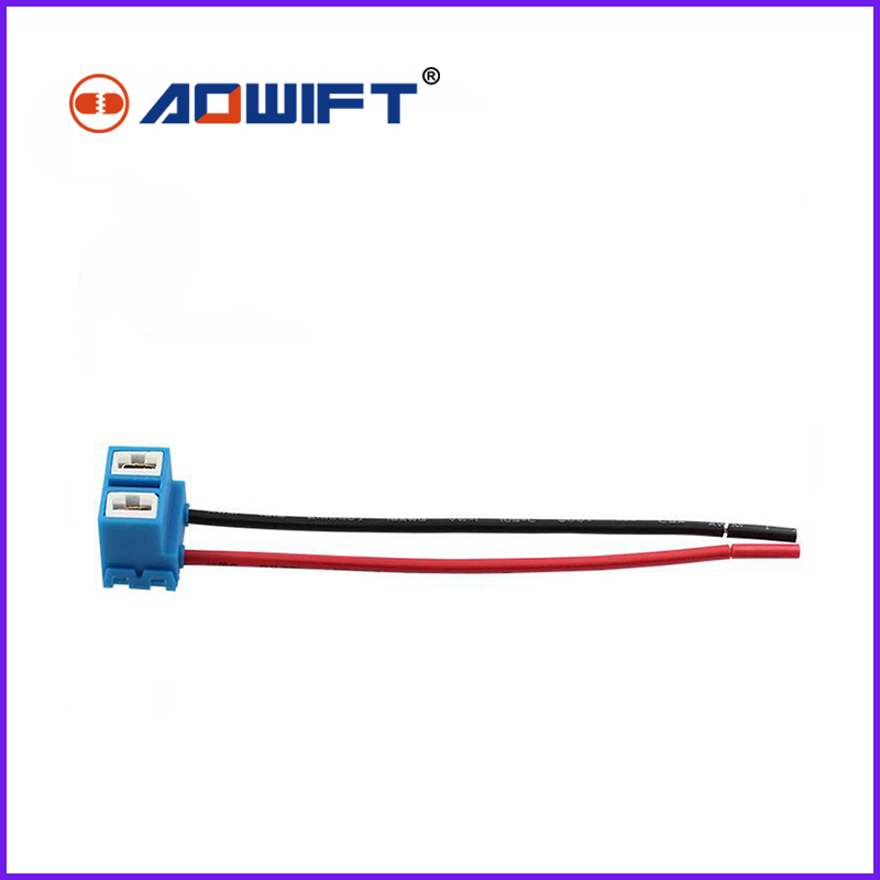 Auto Parts and Vehicles 2 Ceramic H4 Headlight Wiring ... on