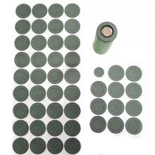 1000PCS 1S 26650 Li ionแบตเตอรี่ปะเก็นฉนวนกันความร้อนข้าวบาร์เลย์กระดาษแบตเตอรี่โทรศัพท์มือถือฉนวนกาวPatch Electrodeฉนวนแผ่น