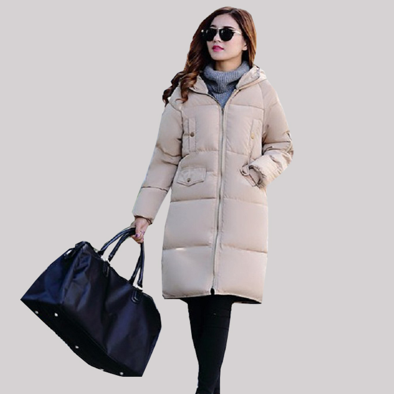 где купить New Winter Maternity Coat  Warm Maternity down Jacket mid long Clothing  For Pregnant Women outerwear  warm clothing по лучшей цене