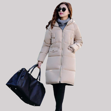 New Winter Maternity Coat  Warm Maternity down Jacket mid long Clothing  For Pregnant Women outerwear  warm clothing