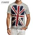 E-BAIHUI nuevo estilo hombres del Algodón del verano Ropa de Hombre Slim Fit camiseta Hombre Camisetas Casual Camisetas Swag mens tops tees Y001