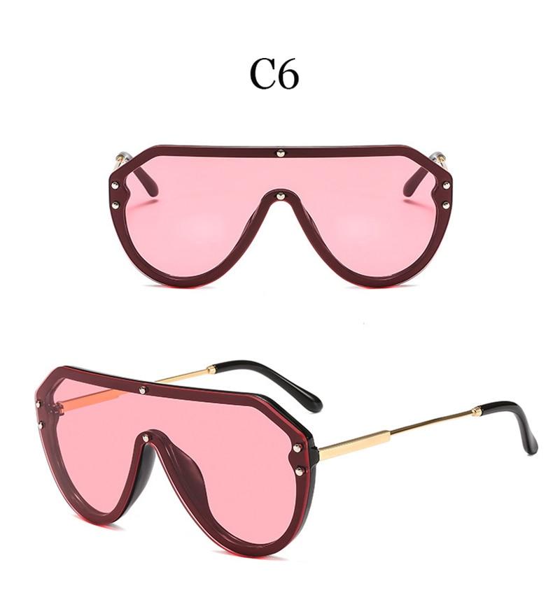 2019 New F Watermark One-piece Sunglasses PC Copy Film Men Women Sunglasses Girls Personality Colorful Fashion Wild Sun Glasse (12)