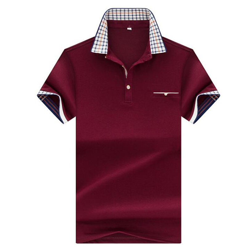 Men   polo   brand high quality men   polo   shirt 2019 summer new cotton short sleeved   POLO   men business casual Solid   polo   shirt