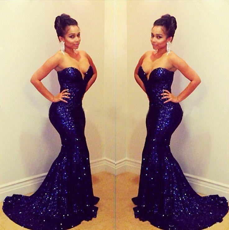 Popular Purple Sequin Mermaid Prom Dresses-Buy Cheap Purple Sequin ...