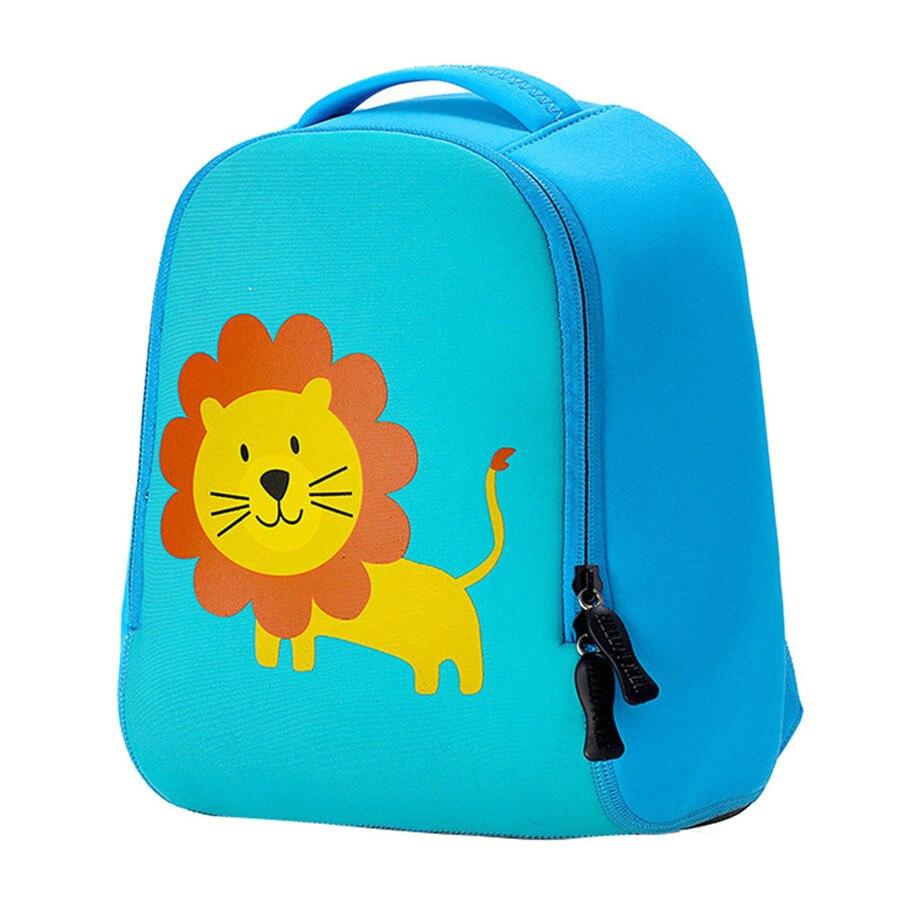 Новый Дизайн 3D мультфильм школьные сумки для Обувь для мальчиков животного Сверхлегкий детский сад рюкзак для детей школьная сумка Обувь д...