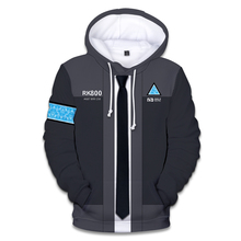 Hot Detroit Become Human 3D Print Hoodies Men/women With Streetwear Mens and Sweatshirt Clothe