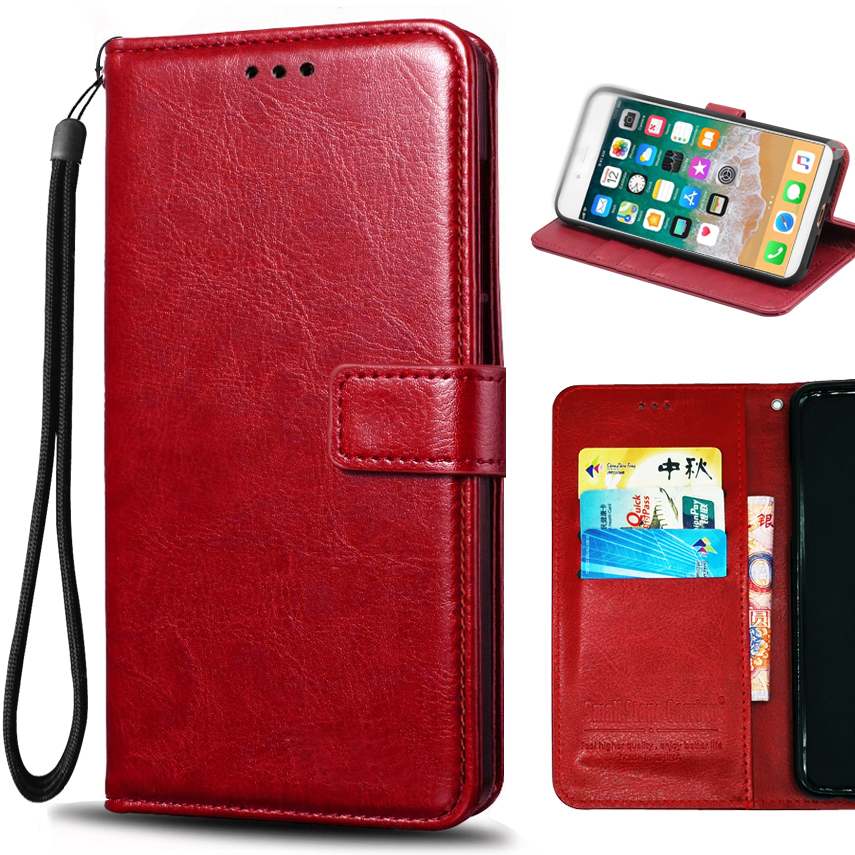 oneplus 5t case for one plus 5t cover silicone business PU leather case coque oneplus 5t flip case with Card Holder Magnetic
