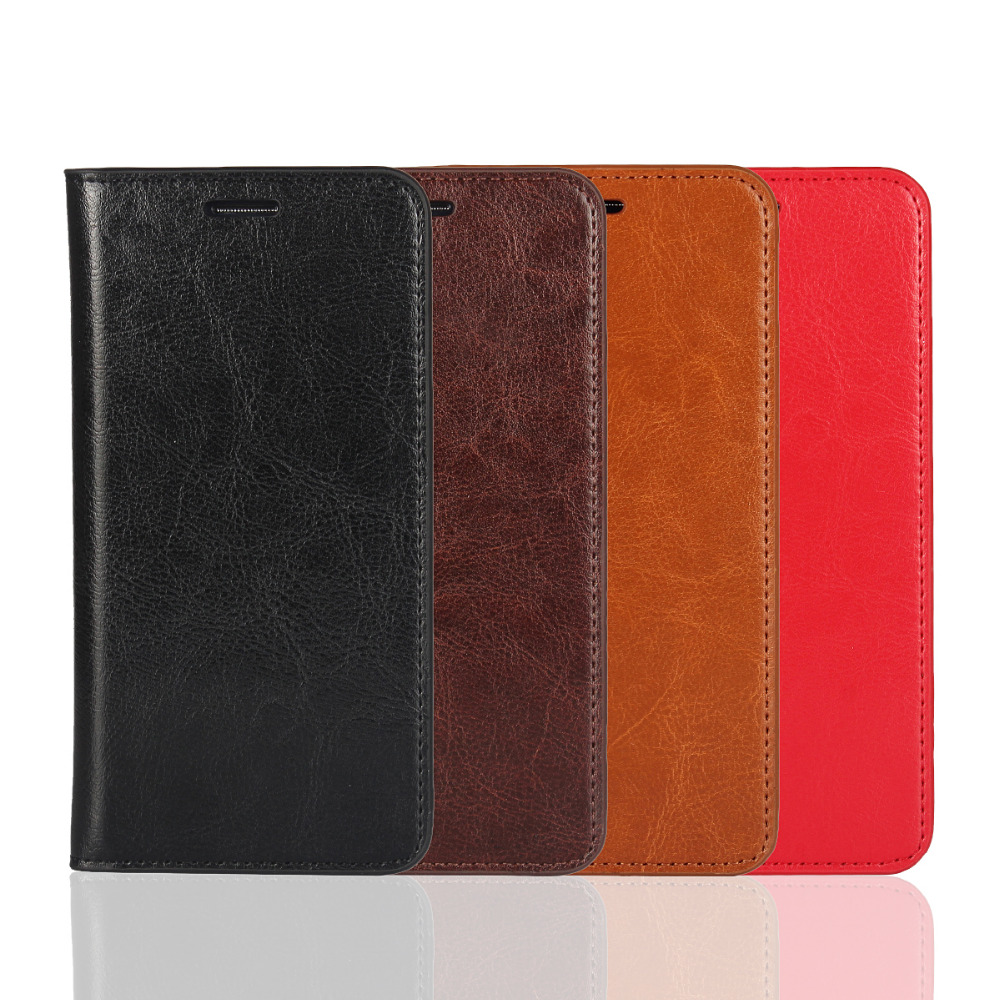 P9 Coque Huawei P9 Genuine Real Flip Leather Case for Huawei P9 Protective Cover Fundas Black Capa Cases Etui Accessory Bags-in Flip Cases from Cellphones & Telecommunications on AliExpress