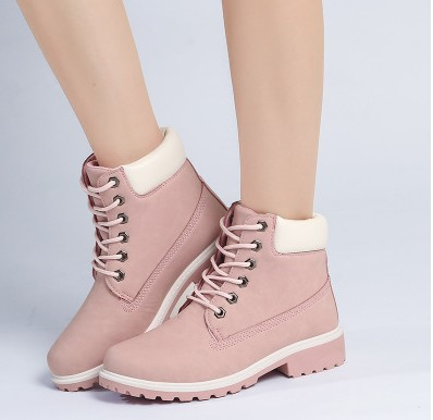 2019 Hot New Autumn Early Winter Shoes Women Flat Heel Boots Fashion Keep warm Women's Boots Brand Woman Ankle Camouflage