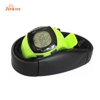 Sport Watch Heart Rate Monitor Chest Belt Wrist Calorie Pedometer