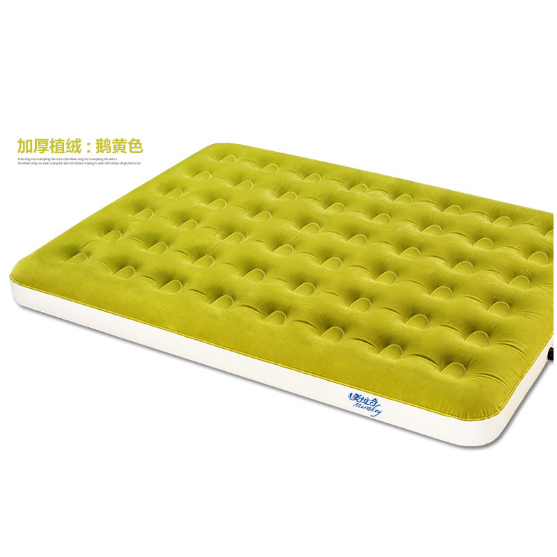 Sports & Entertainment Constructive Mirakey Mlq-27001 Built-in Foot Pump Air Mattress 99*191*22cm Single Person Bedroom Furniture Air Bed Inflatable Camping Mat