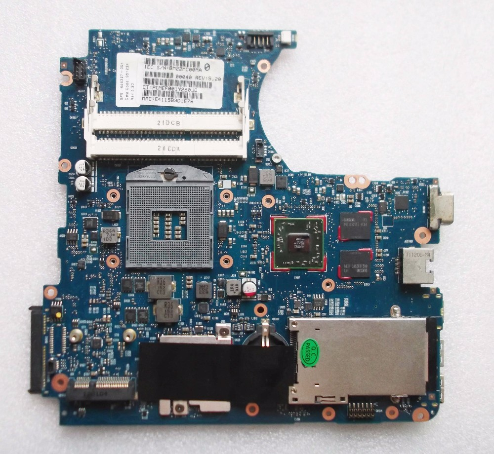 ФОТО 646327-001 Free Shipping laptop motherboard for HP Probook 4431S 4331S 658335-001 HM65 PGA989 ATI HD6490 512M DDR3 Fully tested