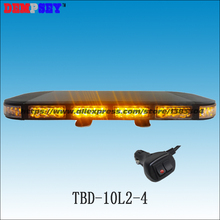 TBD-10L2-4 High quality LED mini lightbar, emergency light,Car Flashing warning light,cigar light switch