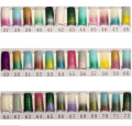 100pcs Glitter Nail  Finger  French Nail Tips False Acrylic Half Tips Shining Art Design 37-67
