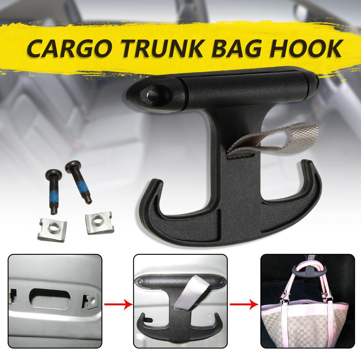 257.82руб. 5% СКИДКА|Черный автомобильный грузовой крючок для сумки в багажник держатель Вешалка для VW/Passat B6 CC/Jetta/MK5 для Audi|Клипсы и зажимы для авто| |  - AliExpress