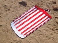 Мягкие Флаг США бутылка пива колы чашки Творческий нерегулярные Форма с большой микрофибры пляжное Полотенца дети Для ванной салфетку De Plage