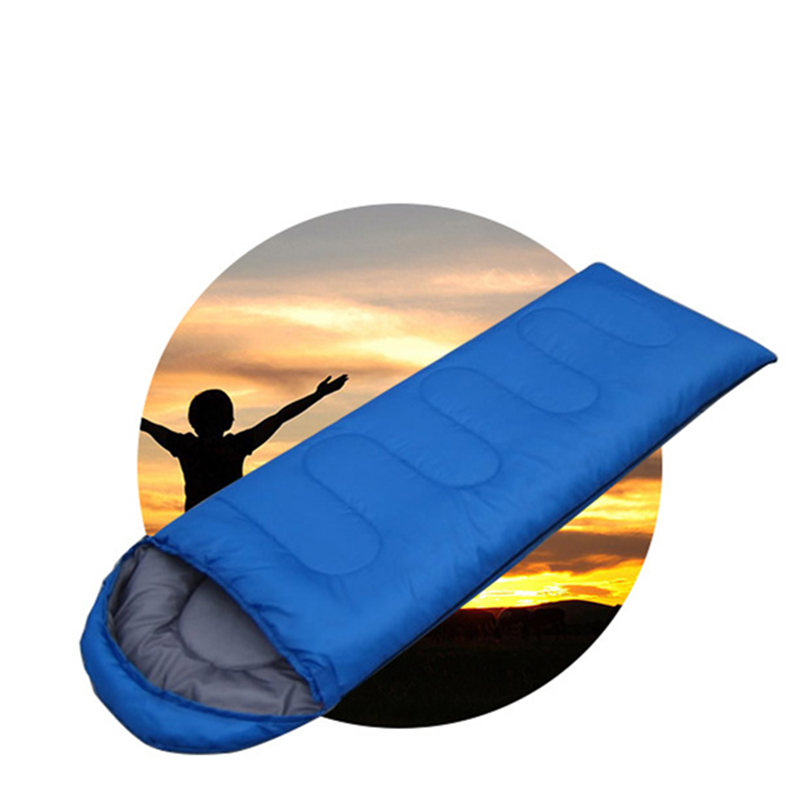 Image 3 - VILEAD 5 Colors Envelope type Ultralight Sleeping Bag Portable Waterproof Summer Hiking Camping Stuff Adult Quilt Lightweight-in Sleeping Bags from Sports & Entertainment