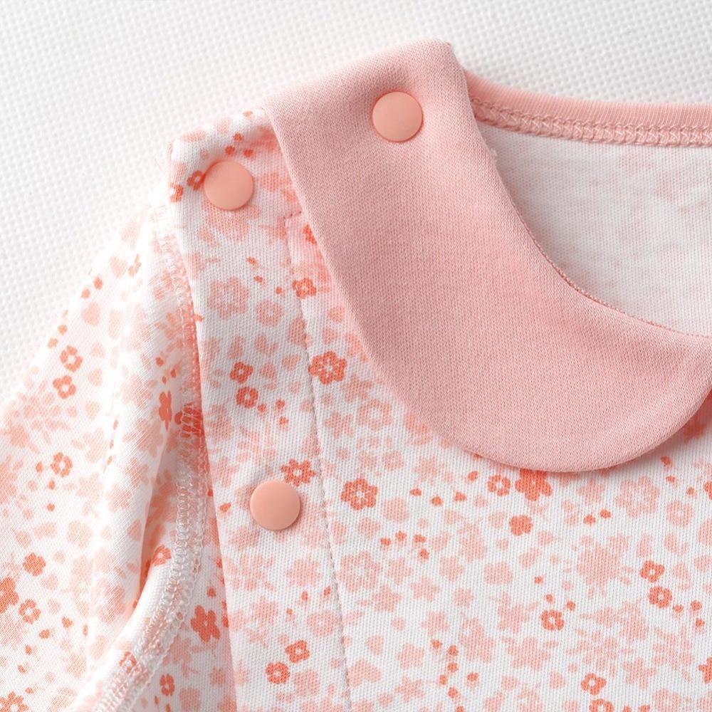 ▽Bebê recém-nascido Da Menina Da Praia Floral Roupa Rosa de Verão ... 810238a3ed5ca