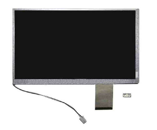 0-C00 HSD080IDW1 LCD screen 8 inch LCD screen C01 /HSD080IDW1 can be equipped with touch screen