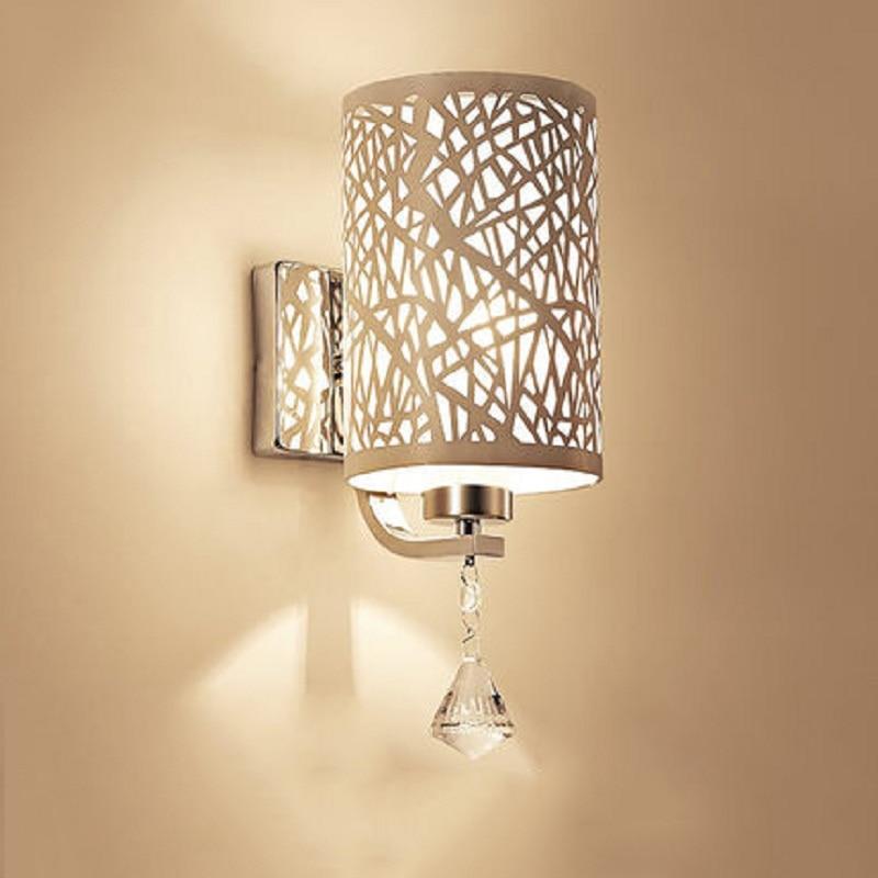 Creative Fashion LED Wall Lights Hollow Lampshade Design Luminary ...