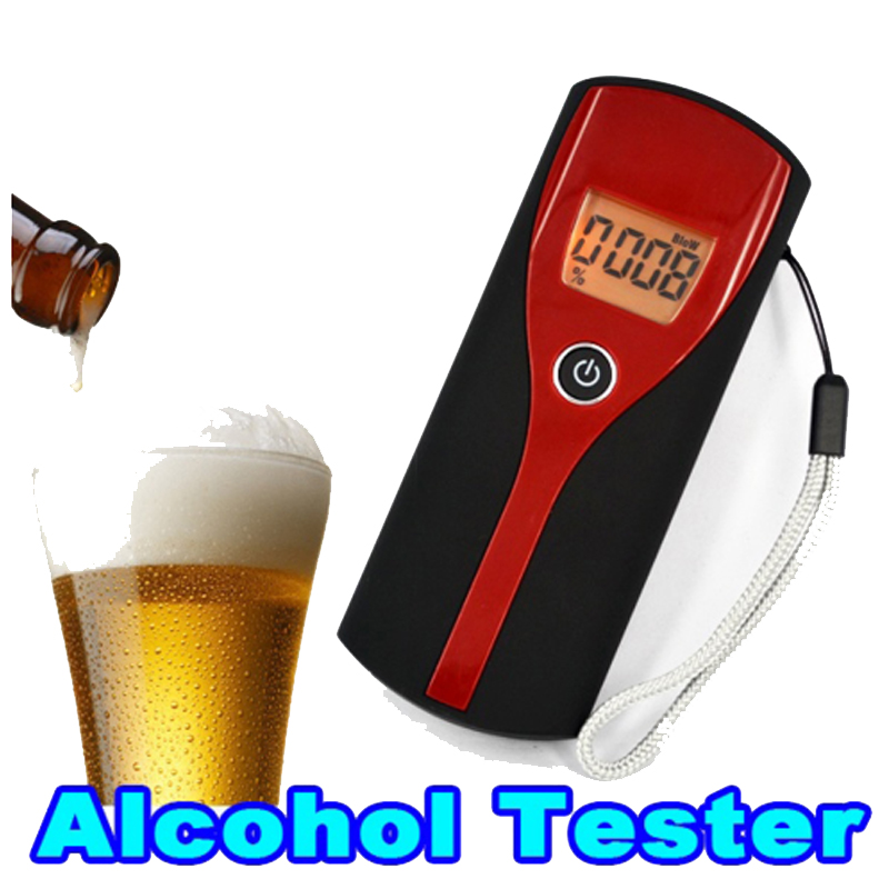 new  Alcohol Breath Alert Breath Tester LCD Display with audible alert Quick response The Breathalyzer Parking Breathalyser
