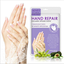 10pcs ALIVER Soft Hand Mask Moisturizing Silk Skiing Improves Dry Exfoliating