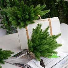 20 шт./лот, Рождественские елки, искусственный цветок, аксессуары, Искусственный мох/иглы/конус, украшение для сада, для дома